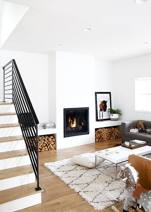 Modern Living Room Dominated By Neutral Colors: 15 Best Minimalist Living Room Ideas