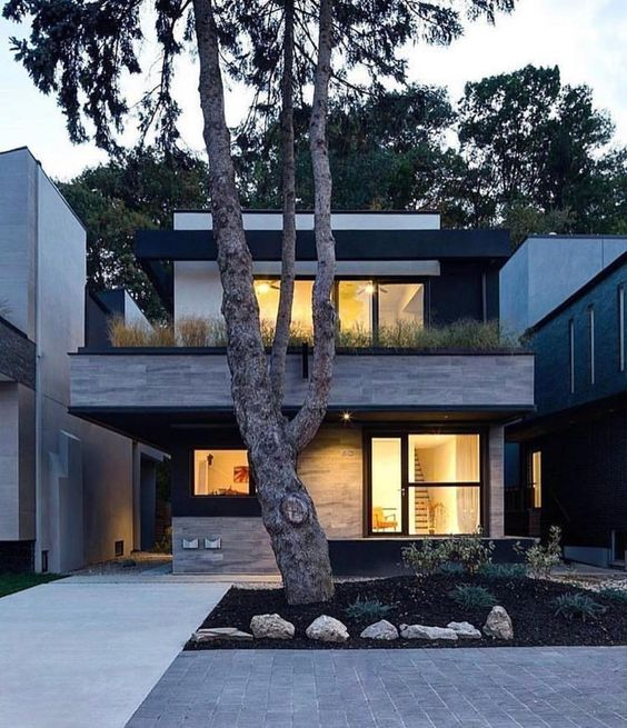 30+ Photos Of Modern Houses In Which You Will Want To Live -  - architecture - beautiful modern mansion -