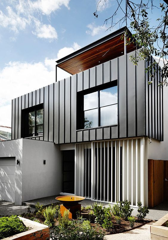 30+ Photos Of Modern Houses In Which You Will Want To Live -  - architecture - black and white modern house -