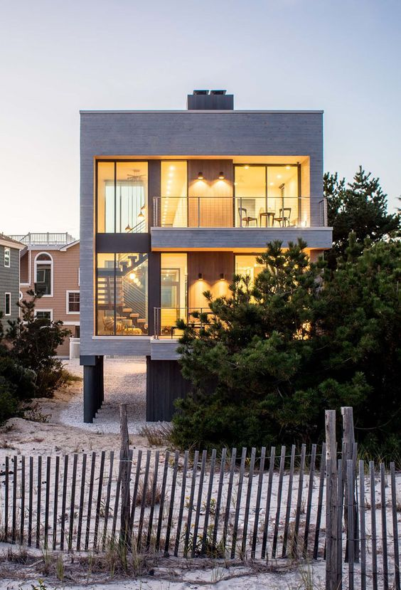 30+ Photos Of Modern Houses In Which You Will Want To Live -  - architecture - contemporary beach house -