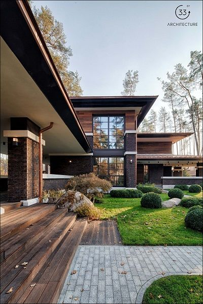 30+ Photos Of Modern Houses In Which You Will Want To Live -  - architecture - contemporary praire house -