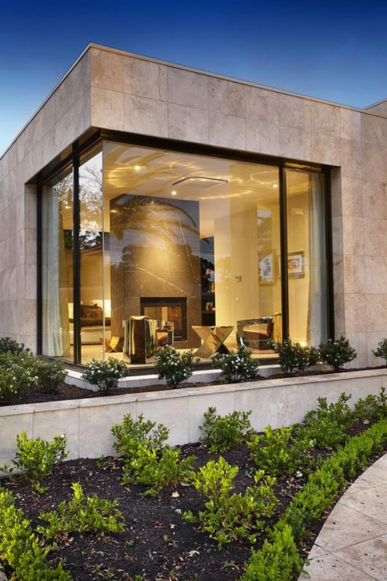 30+ Photos Of Modern Houses In Which You Will Want To Live -  - architecture - modern home corner window -