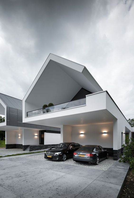 30+ Photos Of Modern Houses In Which You Will Want To Live -  - architecture - smooth minimalistic house architecture -