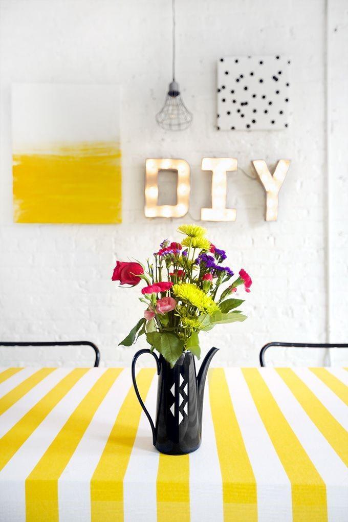 9 DIY Home Decor Ideas in Summer