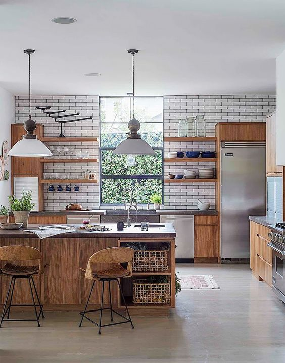 27+ Best Modern Kitchen Design Ideas For Your Place -  - interior-design - Best Modern Kitchen Design Idea For Your Place bohemian boho scandinavian midcentury interior design 17 -