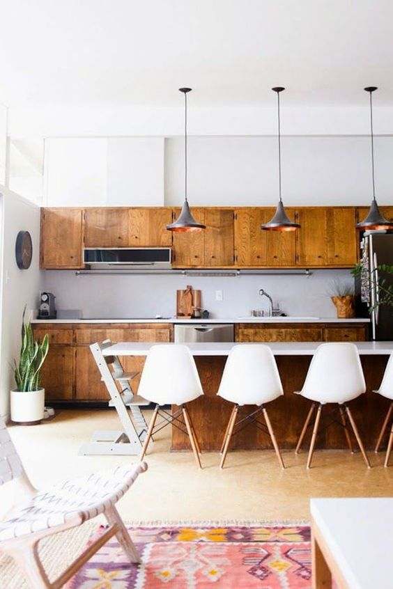27+ Best Modern Kitchen Design Ideas For Your Place -  - interior-design - Best Modern Kitchen Design Idea For Your Place bohemian boho scandinavian midcentury interior design 2 -