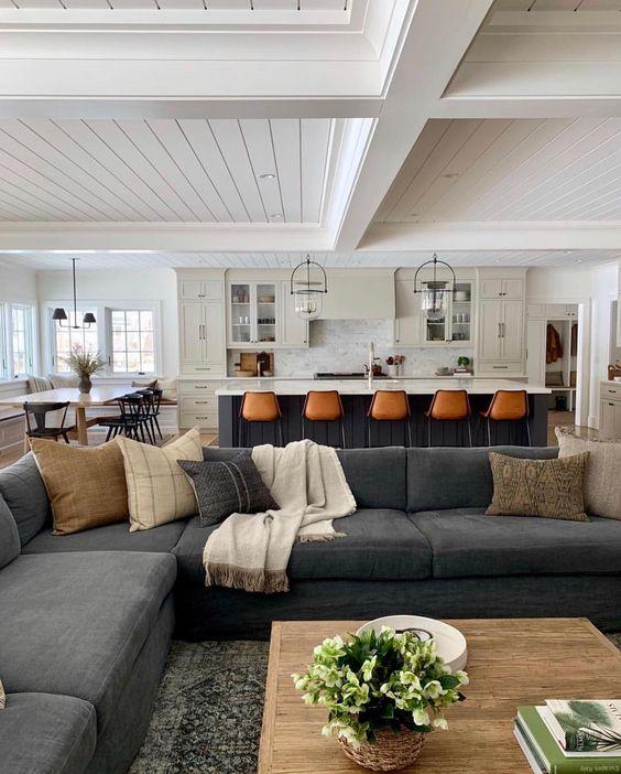 31+ Modern Living Room Furniture Sets Ideas -  - interior-design - Modern Living Room Sets Idea 1 -