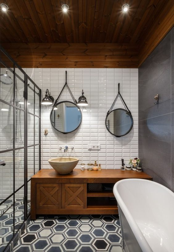 29+ Best Inspirations How To Style Bathroom Mirror -  - interior-design - bathroom vanity mirror inspiration idea round framed lights rectangle frameless large rustic 3 -