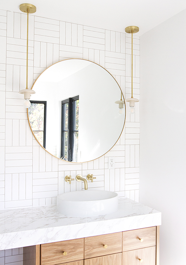 29+ Best Inspirations How To Style Bathroom Mirror -  - interior-design - bathroom vanity mirror inspiration idea round framed lights rectangle frameless large rustic 30 -