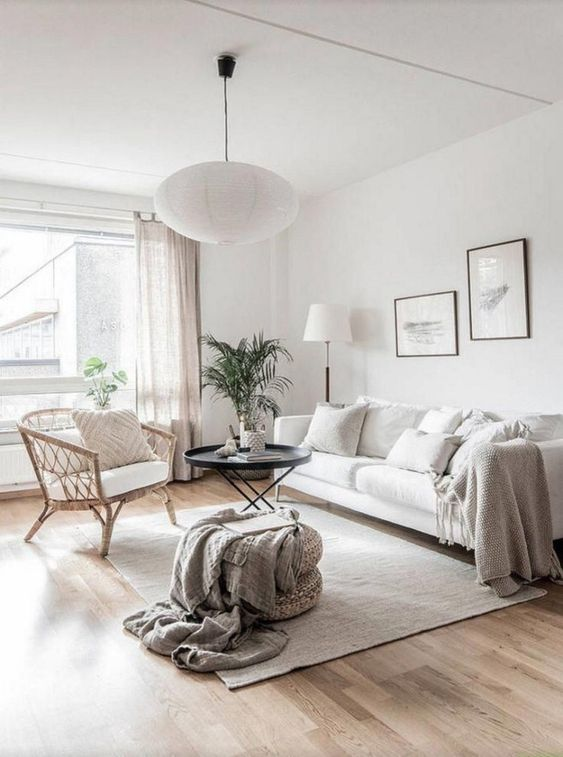 Scandinavian Design: Absolutely Stunning Interiors That You Will Love -  - interior-design - Scandinavian interior design style nordic living room bedroom kitchen minimalistic 1 -