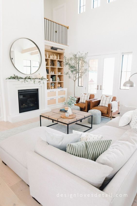 Scandinavian Design: Absolutely Stunning Interiors That You Will Love -  - interior-design - Scandinavian interior design style nordic living room bedroom kitchen minimalistic 10 -