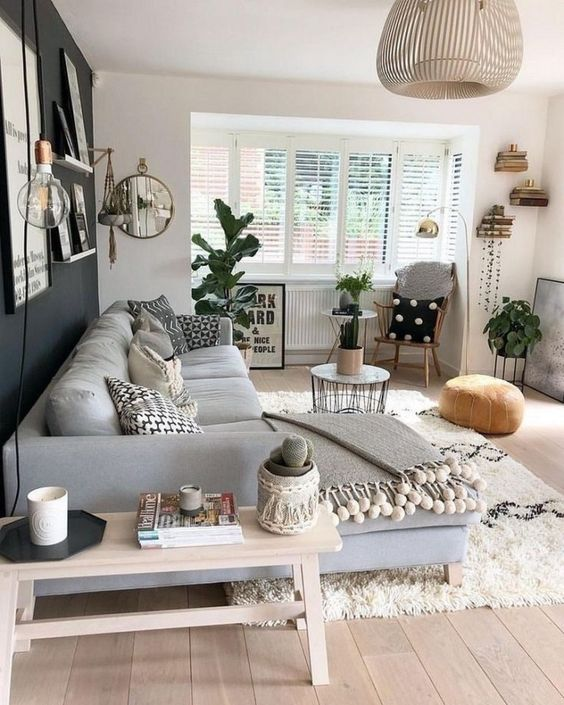 Scandinavian Design: Absolutely Stunning Interiors That You Will Love -  - interior-design - Scandinavian interior design style nordic living room bedroom kitchen minimalistic 26 -