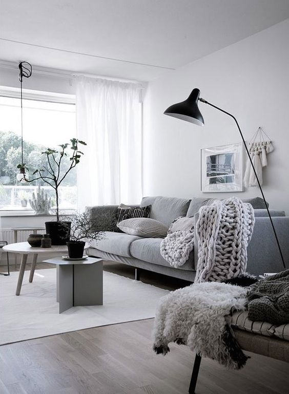 Scandinavian Design: Absolutely Stunning Interiors That You Will Love -  - interior-design - Scandinavian interior design style nordic living room bedroom kitchen minimalistic 27 -