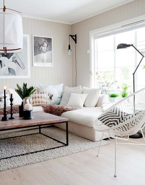 Scandinavian Design: Absolutely Stunning Interiors That You Will Love -  - interior-design - Scandinavian interior design style nordic living room bedroom kitchen minimalistic 36 -