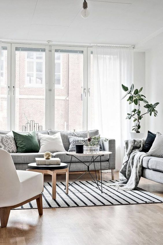 Scandinavian Design: Absolutely Stunning Interiors That You Will Love -  - interior-design - Scandinavian interior design style nordic living room bedroom kitchen minimalistic 39 -