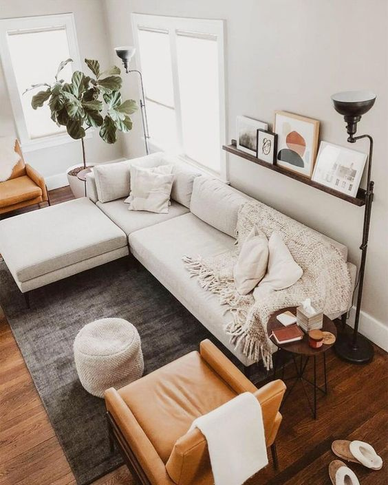 Scandinavian Design: Absolutely Stunning Interiors That You Will Love -  - interior-design - Scandinavian interior design style nordic living room bedroom kitchen minimalistic 47 -