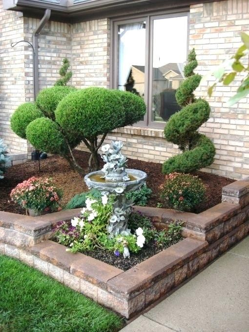 31 Simple Landscaping Ideas How To Decor Your Front Yard -  - garden - Simple Landscaping Idea For Decorating Front Yard front of the house small front yard plants makeover modern porch 17 -