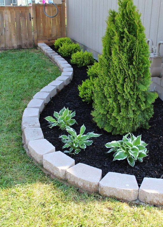 31 Simple Landscaping Ideas How To Decor Your Front Yard -  - garden - Simple Landscaping Idea For Decorating Front Yard front of the house small front yard plants makeover modern porch 22 -