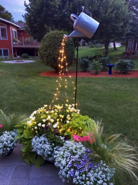 31 Simple Landscaping Ideas How To Decor Your Front Yard -  - garden - Simple Landscaping Idea For Decorating Front Yard front of the house small front yard plants makeover modern porch 8 -
