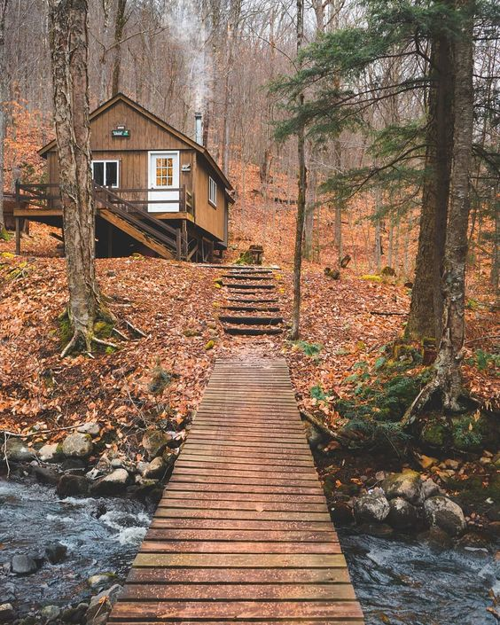 25+ Dreamy & Cozy Cabins You Will Want To Visit This Year -  - architecture - cozy rustic dreamy cabins cottages forest mountains small ideas 13 -