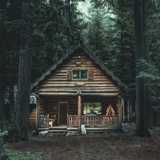 25+ Dreamy & Cozy Cabins You Will Want To Visit This Year -  - architecture - cozy rustic dreamy cabins cottages forest mountains small ideas 30 -