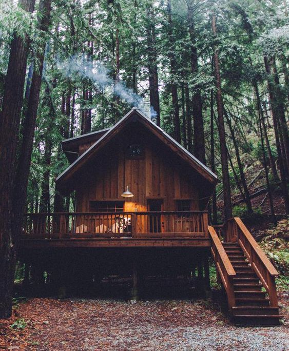 25+ Dreamy & Cozy Cabins You Will Want To Visit This Year -  - architecture - cozy rustic dreamy cabins cottages forest mountains small ideas 7 -