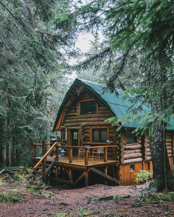 25+ Dreamy & Cozy Cabins You Will Want To Visit This Year -  - architecture - cozy rustic dreamy cabins cottages forest mountains small ideas 9 -