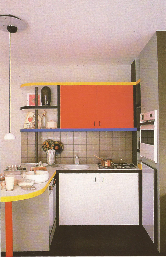 '80s Interiors - This Is How Interior Design Looked Like In The Past (Postmodern Gallery) -  - interior-design - 80s interior design living room space home decor colour neon lights pink blue 37 -