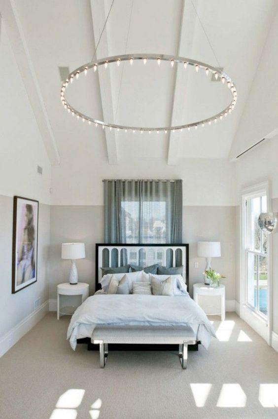 Best Ceiling Lighting Ideas That Add Style To Your Bedroom -  - interior-design - bedroom ceiling lighting house apartment hanging modern rustic led contemporary farmhouse 10 -