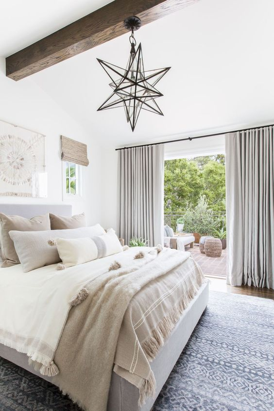 Best Ceiling Lighting Ideas That Add Style To Your Bedroom -  - interior-design - bedroom ceiling lighting house apartment hanging modern rustic led contemporary farmhouse 13 -