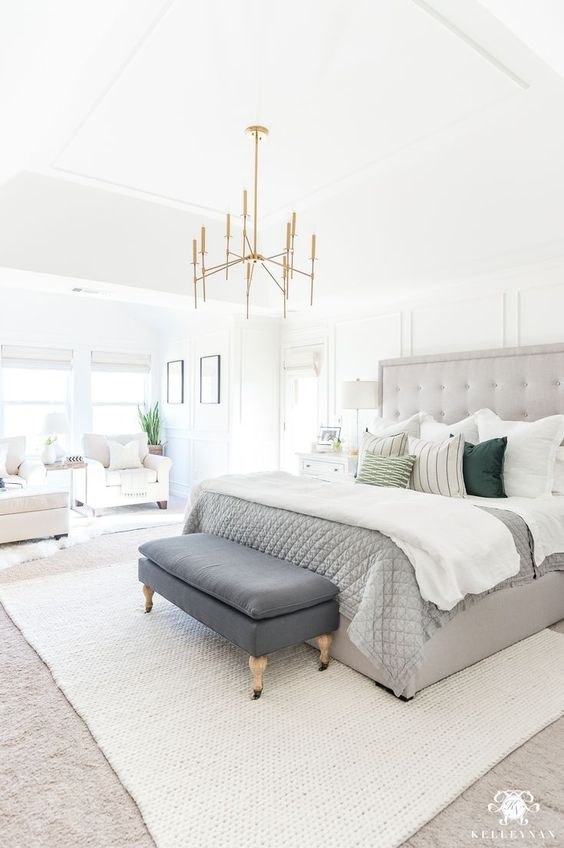 Best Ceiling Lighting Ideas That Add Style To Your Bedroom -  - interior-design - bedroom ceiling lighting house apartment hanging modern rustic led contemporary farmhouse 18 -