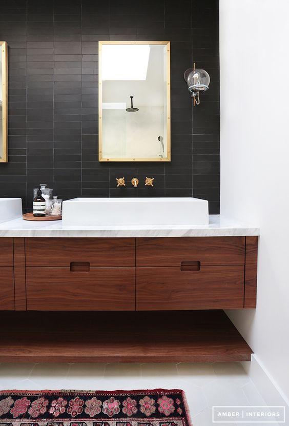35 Incredible Bathroom Wall & Floor Tile Designs from interior-design category