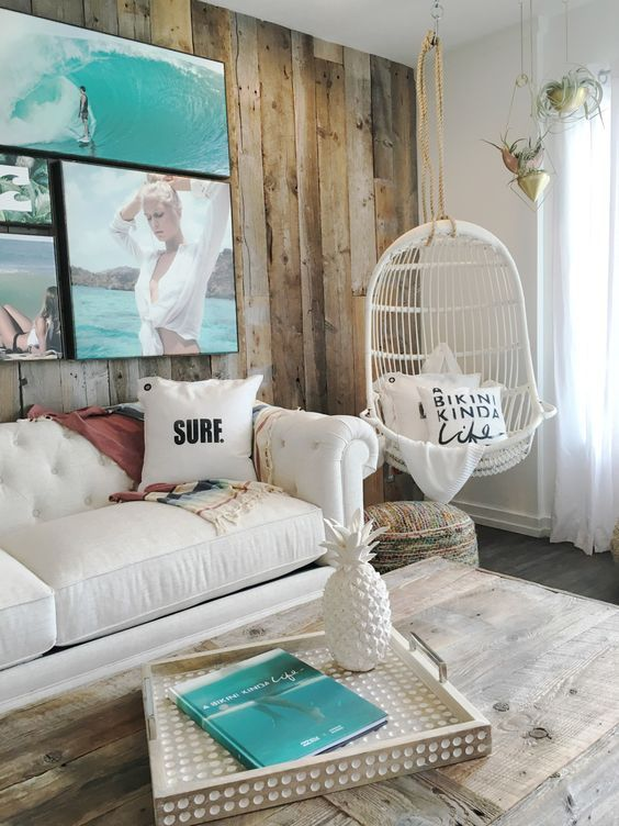 5 Reasons Why Hanging Chair Is Great For Your Bedroom -  - interior-design - hanging chair in bedroom indoor boho scandinavian modern 1 -