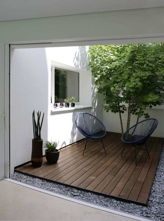 5 Practical Decor Tips & 39 Ideas For Small Backyard -  - garden - Small backyard ideas and tips simple patio with pool and narrow paths 16 -
