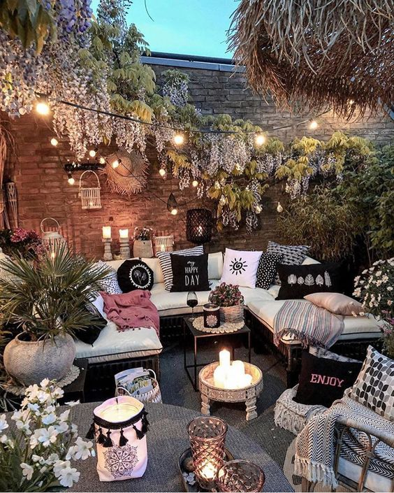 5 Practical Decor Tips & 39 Ideas For Small Backyard -  - garden - Small backyard ideas and tips simple patio with pool and narrow paths 28 -