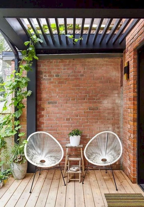5 Practical Decor Tips & 39 Ideas For Small Backyard -  - garden - Small backyard ideas and tips simple patio with pool and narrow paths 4 -