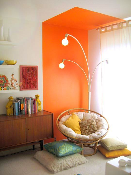 44 Unique & Rare Wall Color Ideas -  - home-decor - creative wall color ideas bedroom living room kitchen 1 -