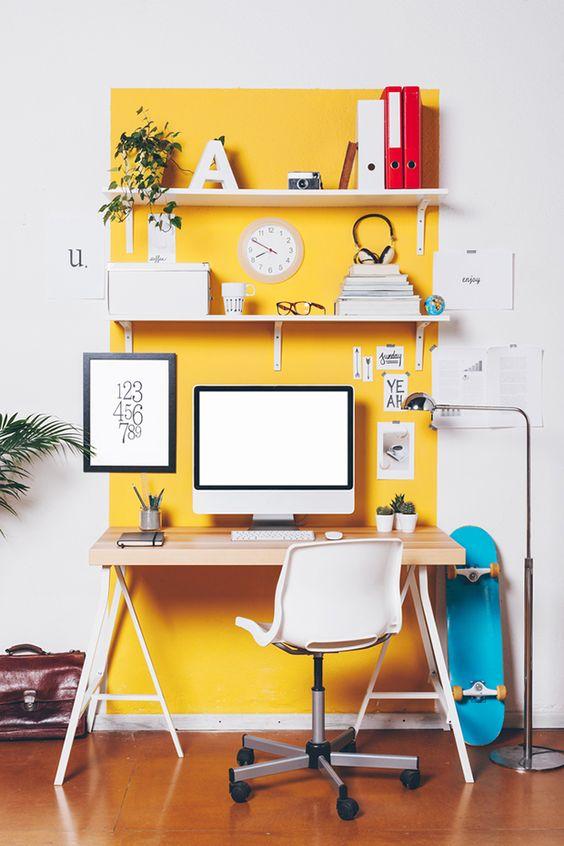 44 Unique & Rare Wall Color Ideas -  - home-decor - creative wall color ideas bedroom living room kitchen 10 -