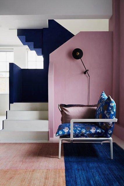 44 Unique & Rare Wall Color Ideas -  - home-decor - creative wall color ideas bedroom living room kitchen 13 -
