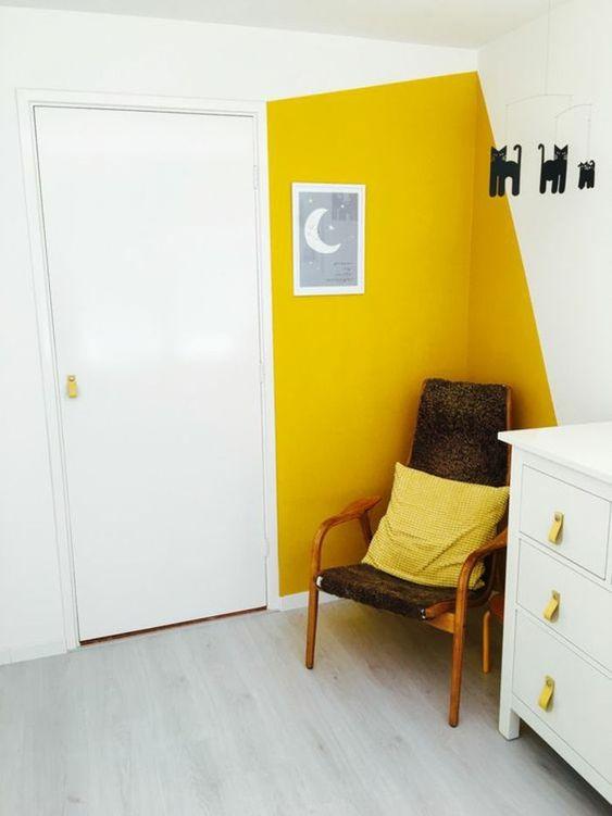 44 Unique & Rare Wall Color Ideas -  - home-decor - creative wall color ideas bedroom living room kitchen 14 -