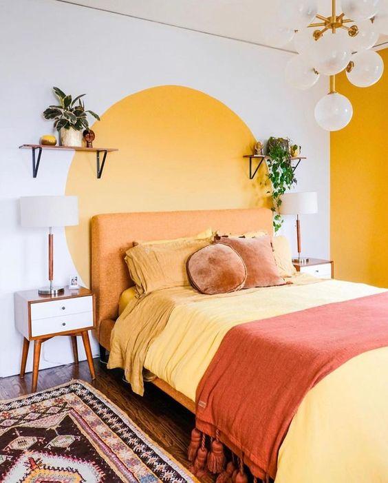 44 Unique & Rare Wall Color Ideas -  - home-decor - creative wall color ideas bedroom living room kitchen 19 -