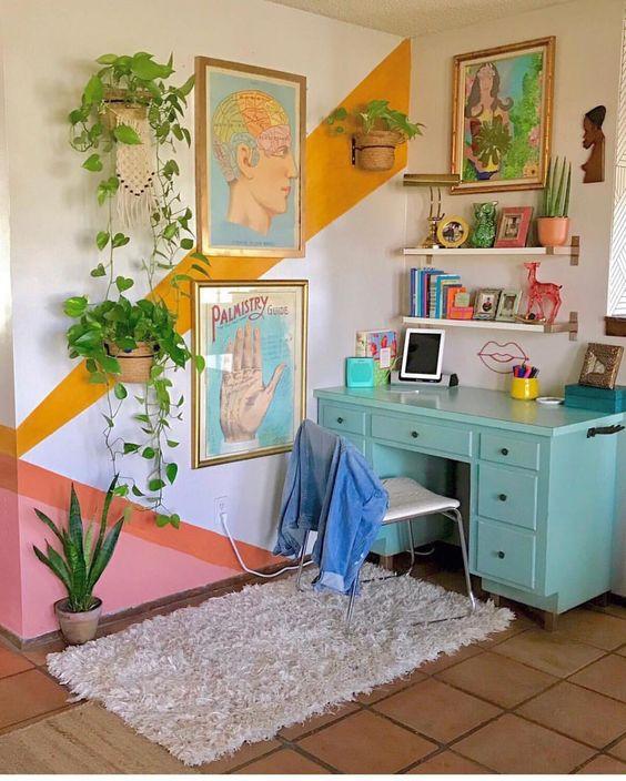 44 Unique & Rare Wall Color Ideas -  - home-decor - creative wall color ideas bedroom living room kitchen 23 -