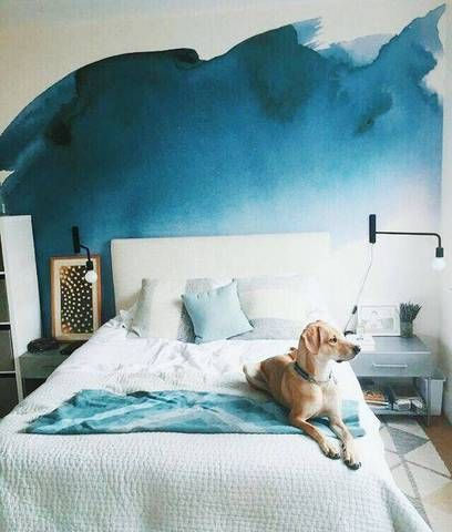44 Unique & Rare Wall Color Ideas -  - home-decor - creative wall color ideas bedroom living room kitchen 26 -