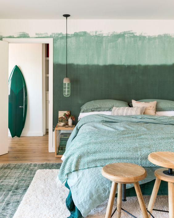44 Unique & Rare Wall Color Ideas -  - home-decor - creative wall color ideas bedroom living room kitchen 35 -