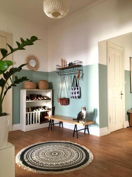 44 Unique & Rare Wall Color Ideas -  - home-decor - creative wall color ideas bedroom living room kitchen 41 -