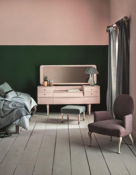 44 Unique & Rare Wall Color Ideas -  - home-decor - creative wall color ideas bedroom living room kitchen 5 -