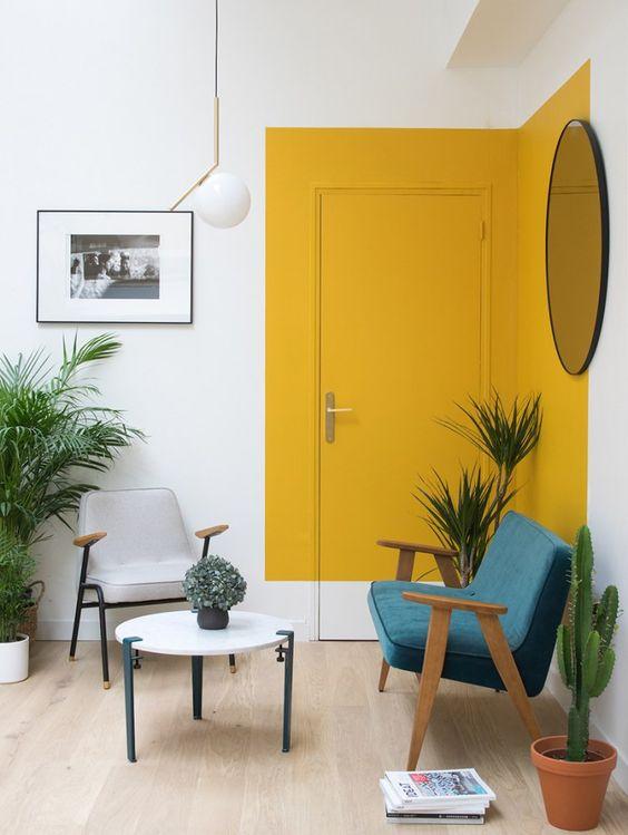 44 Unique & Rare Wall Color Ideas -  - home-decor - creative wall color ideas bedroom living room kitchen 8 -
