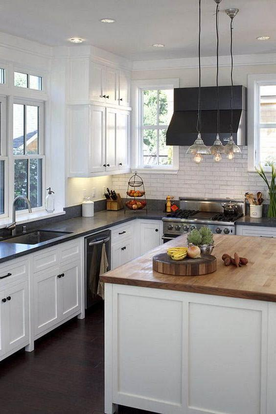White Kitchen Cabinets: Wall Color Ideas   Page 18 of 21 ...