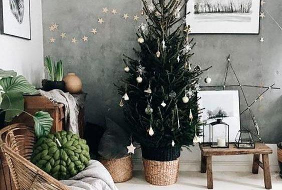 46 Christmas Rustic Decor Ideas
