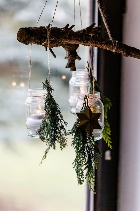 46 Christmas Rustic Decor Ideas -  - home-decor - christmas rustic decor ideas 11 -